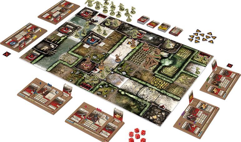 Zombicide, un juego de mesa que recaudó más de 5 millones de dólares en Kickstarter
