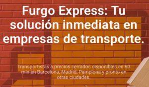 Furgo ofrece servicios de logística on demand, Same Day y 24/48 horas