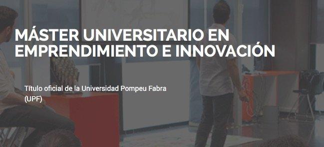 El máster en Emprendimiento e Innovación del TecnoCampus es uno de los mejores de Europa