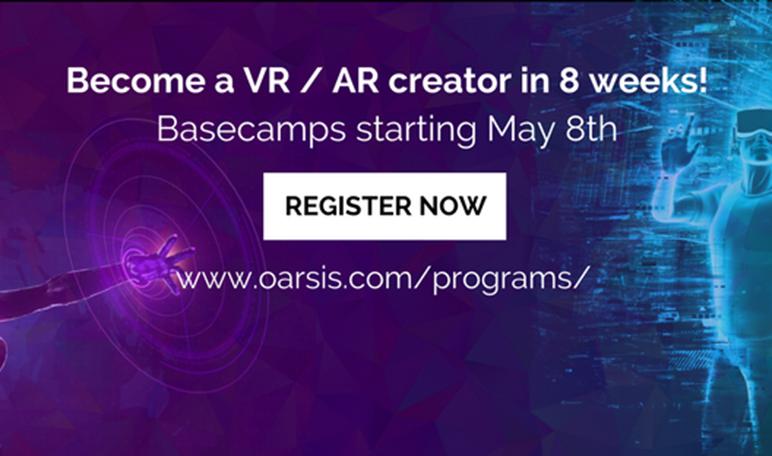 La incubadora y escuela Oarsis lanza cursos de realidad virtual y aumentada