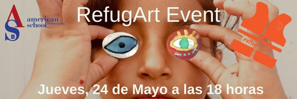REFUGART, una iniciativa que recauda fondos para los refugiados a través del arte