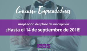 La escuela de negocios IEBS amplía el plazo de inscripción para su Concurso de Emprendedores - Diario de Emprendedores
