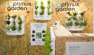 Optimus Garden crea un sistema para cultivar plantas y verduras frescas en cualquier espacio interior - Diario de Emprendedores
