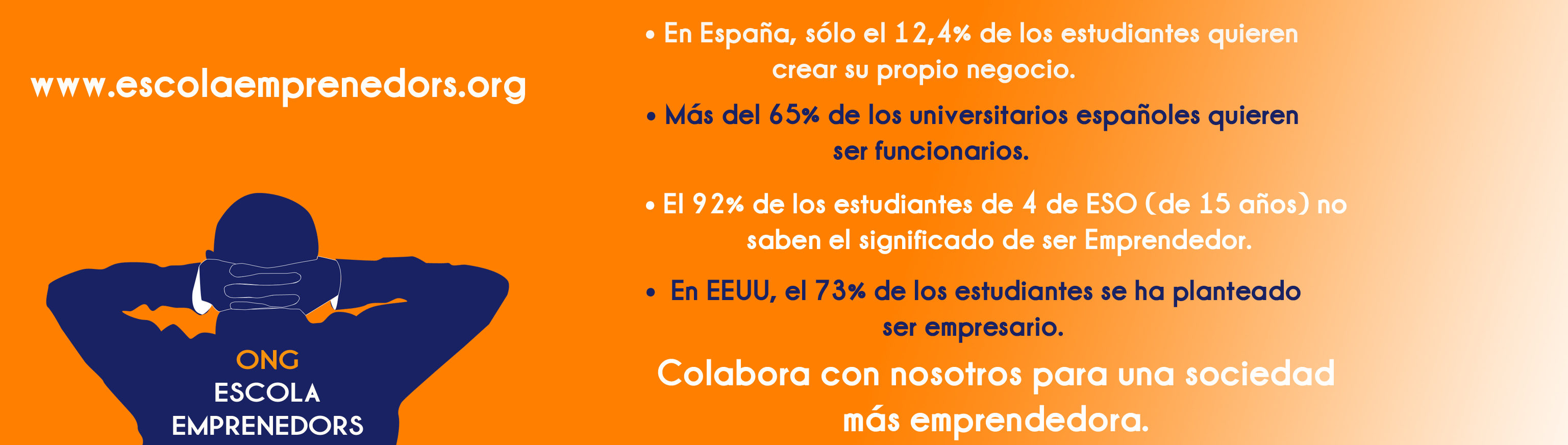 En España, solo el 12 % de los estudiantes quiere crear su propio negocio