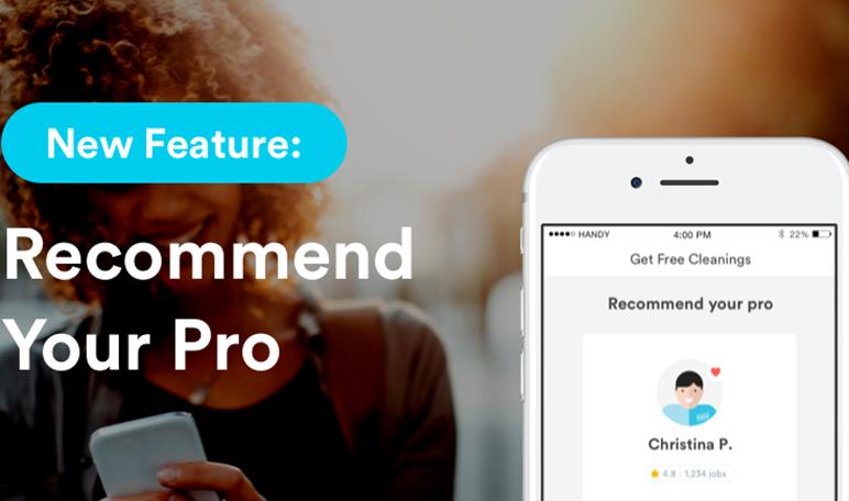 ¿Quieres ser emprendedor? Crea una app como Handy que haga la vida más fácil