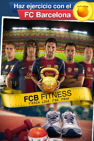 FCB Fitness, la app del Barça para mantenerse en forma
