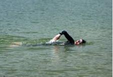 Nadando en aguas abiertas