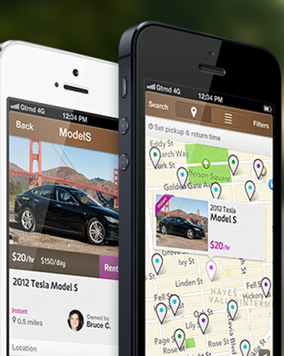 Getaround, un dispositivo para alquilar vehículos desde el smartphone