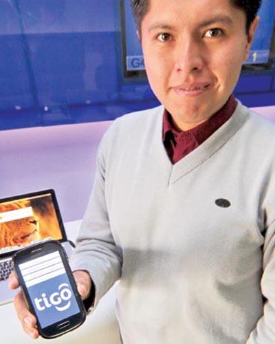 El emprendedor Víctor Hugo Sanjinez crea una app para personas invidentes