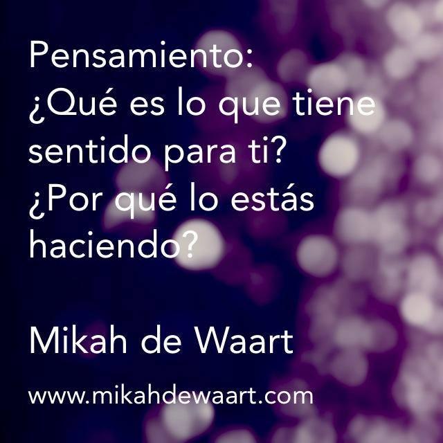 ¿Quieres darle un cambio radical a tu vida? Sigue los consejos de Mikah de Waart