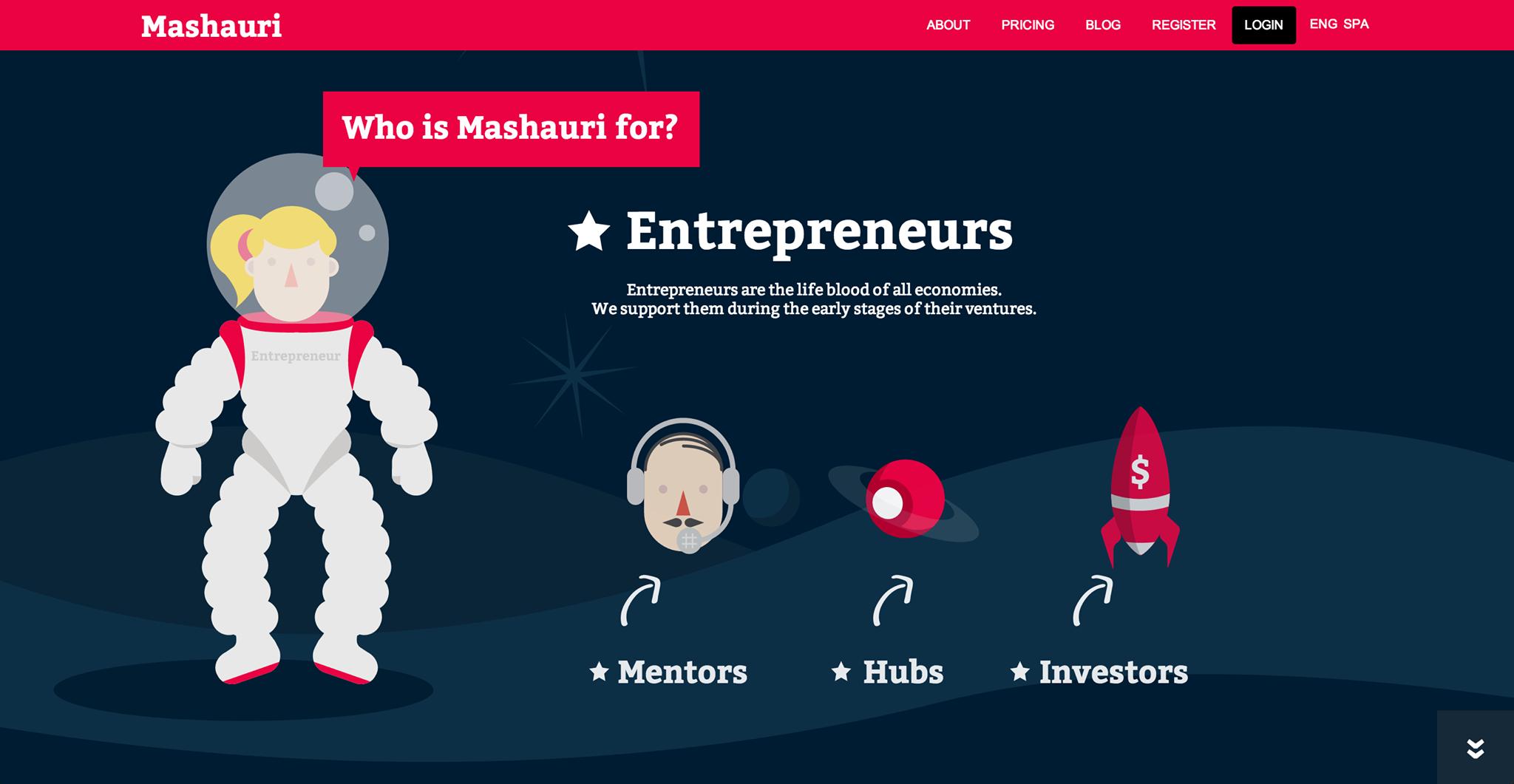 Mashauri, el acelerador de empresas ¡de la era espacial!