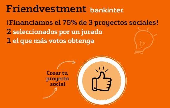 Preséntate a Friendvestment, un concurso para financiar a emprendedores sociales