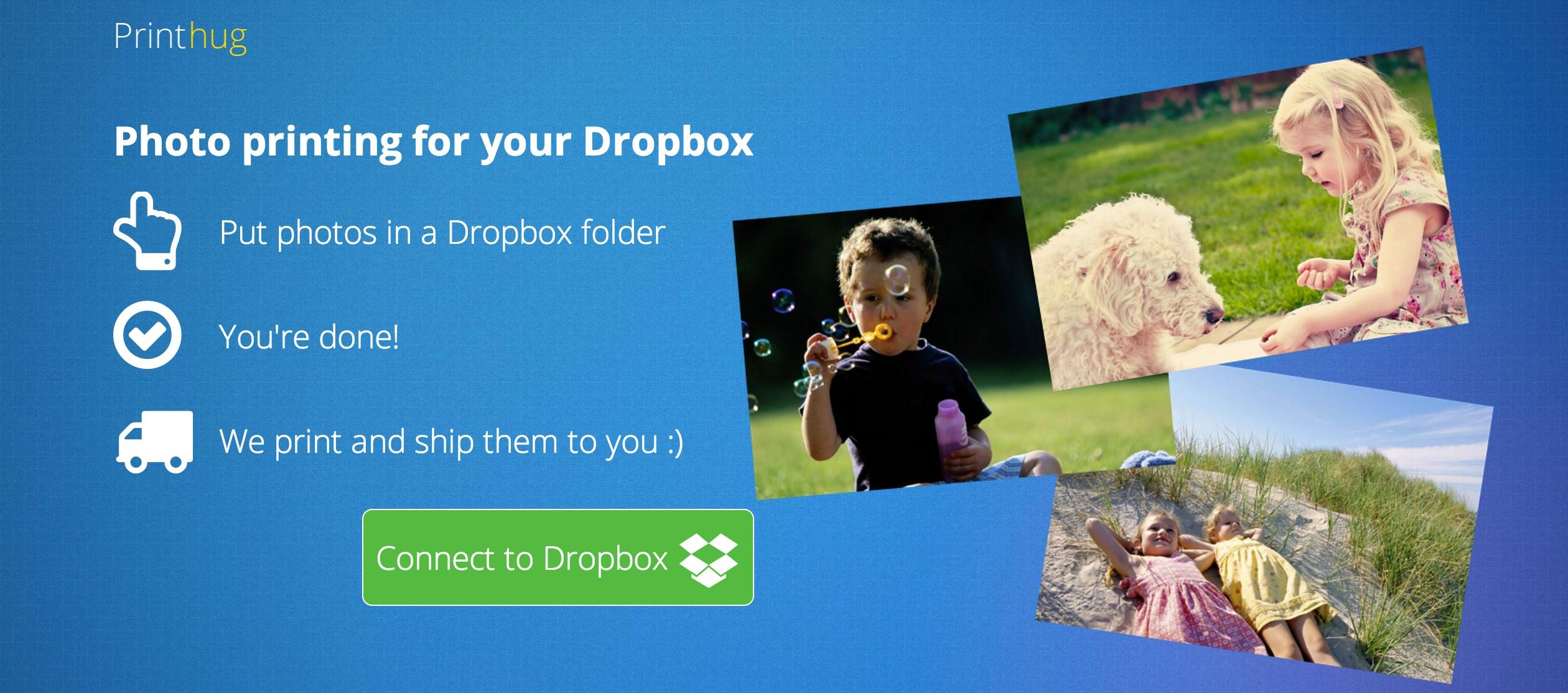 Printhug: crea álbumes de fotos de forma automática