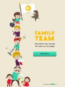 Family Team, una aplicación que convierte las tareas del hogar en un juego
