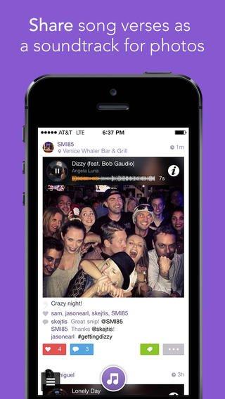 Ponle música a nuestra vida con una aplicación como Snippit