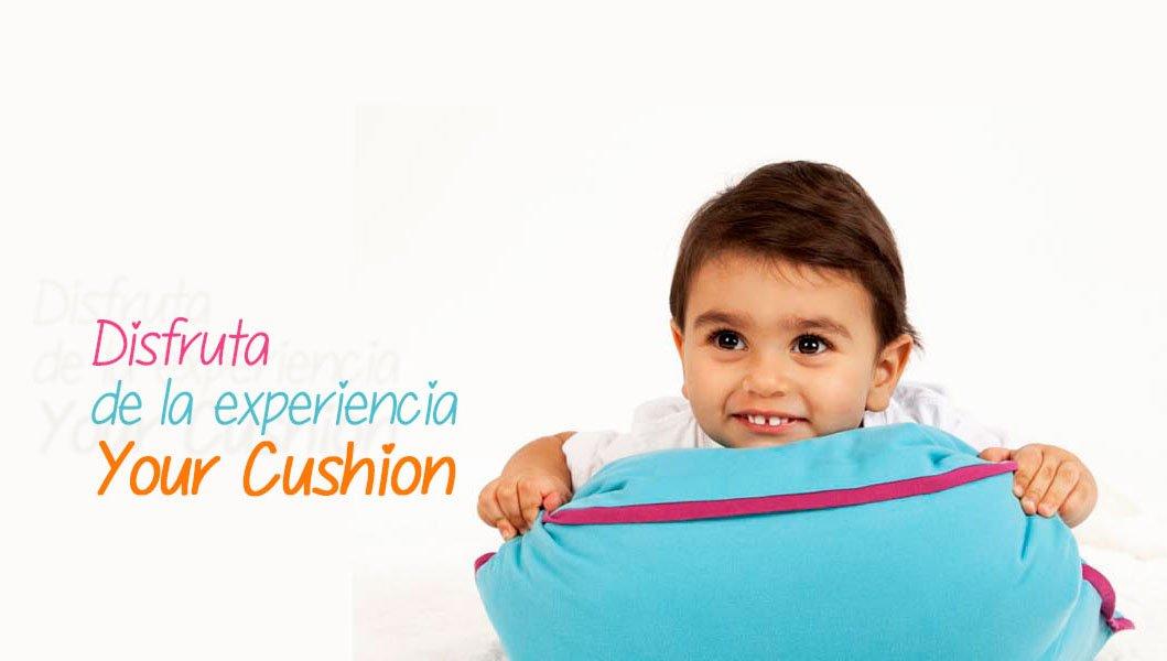 yourcushion.es, una tienda on-line que nos permite diseñar cojines personalizados