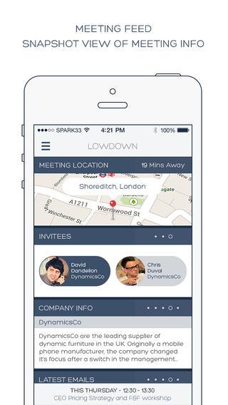 Ayuda a los emprendedores más ocupados con una app como Lowdown