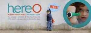 Haz felices a los padres con una propuesta como Hereo, un GPS para niños