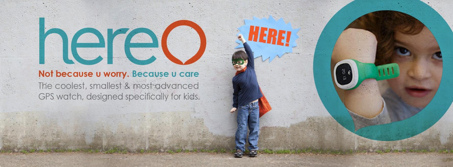 Haz felices a los padres españoles con una propuesta como Hereo, un GPS para niños