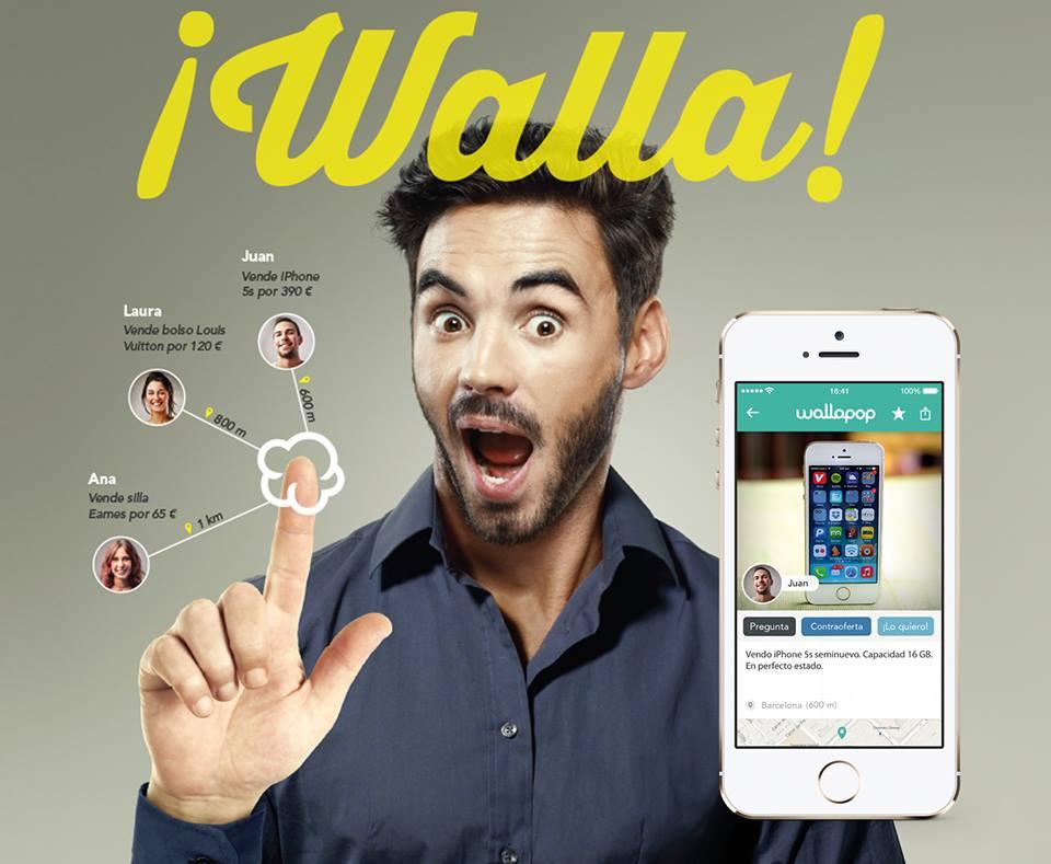 Emprendedores crean Wallapop, una app de productos de segunda mano