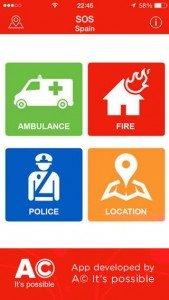 Help Me - SOS, una app gratuita para llamar a teléfonos de emergencia