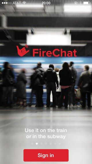 Llega FireChat, una app que nos deja enviar mensajes sin conexión a internet