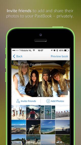 ¿Te gustan las fotos? Tráete PastBook para que podamos crear álbumes desde las redes sociales