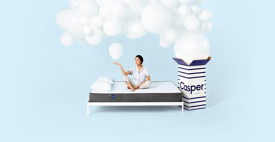 Si te gusta dormir bien, fíjate en los colchones de Casper antes de emprender