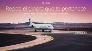 AirHelp ayuda a los pasajeros a obtener indemnizaciones por vuelos cancelados