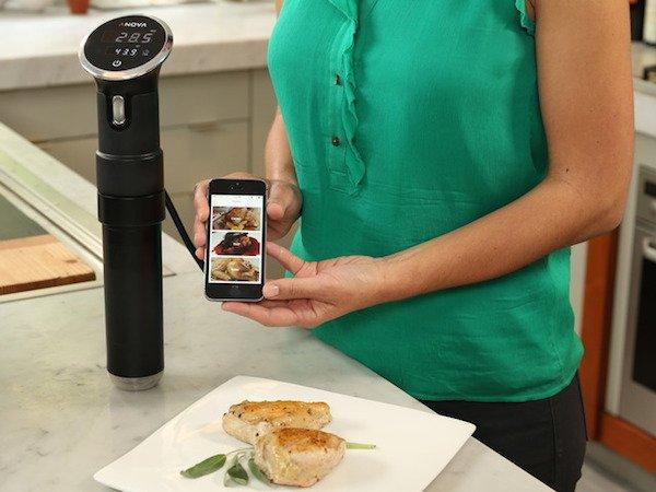 El emprendedor Jeff Wu recauda un millón de dólares con el robot de cocina Anova Precision Cooker