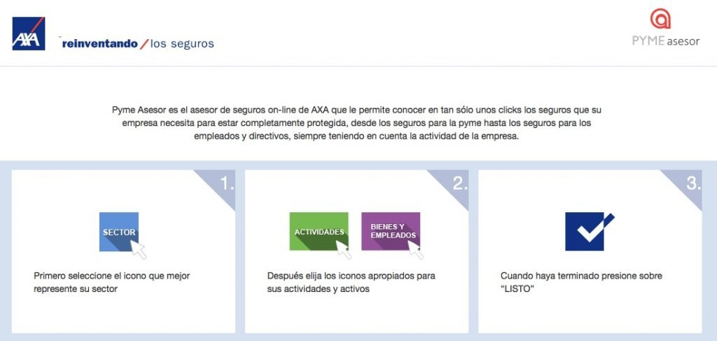 AXA crea Pyme Asesor, una herramienta de asesoramiento para emprendedores