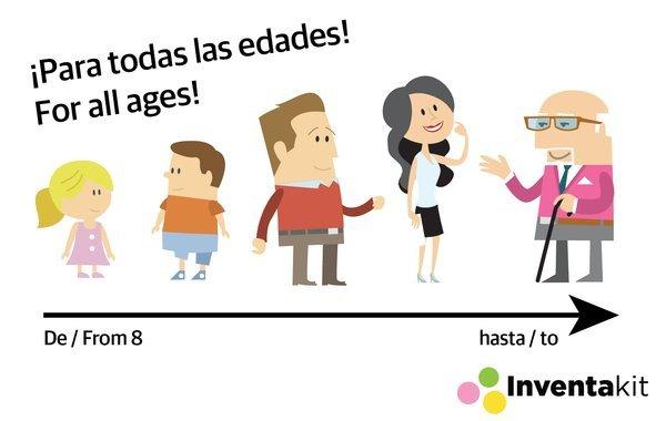 Inventa kit, un juego creativo desarrollado por la emprendedora Beatriz Sigüenza que recauda más de 8.000 euros