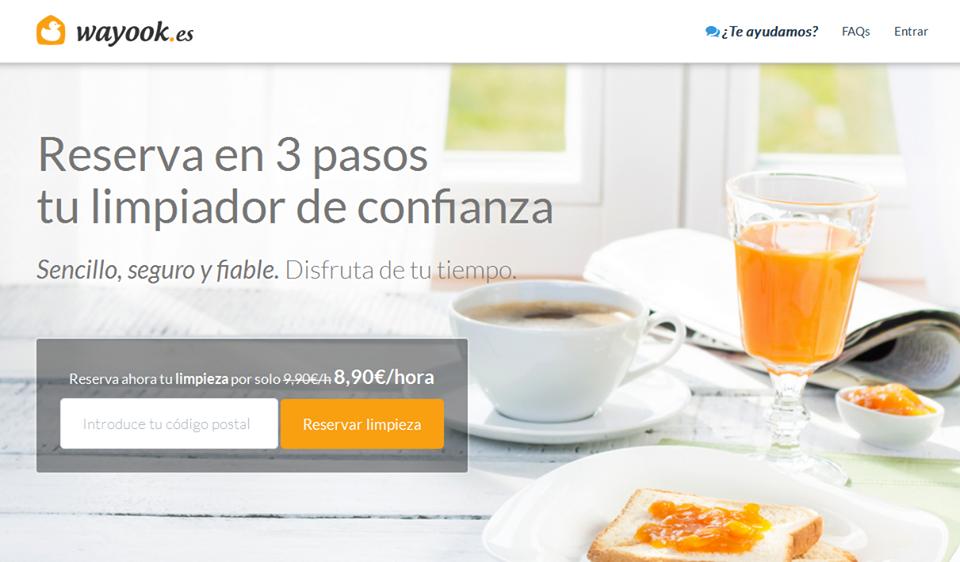 Los emprendedores Álvaro Sánchez y Rodrigo Olmo crean Wayook. ¡Ya podemos limpiar la casa desde el ordenador!