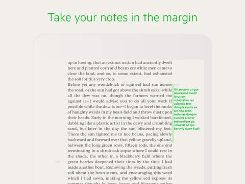 Descubre Addr, una app para iPad que permite escribir anotaciones en el libro digital