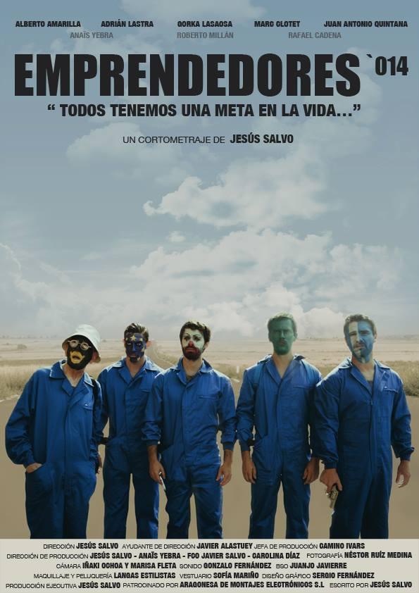 Llega Emprendedores 014, un cortometraje que se estrenará el 9 de enero