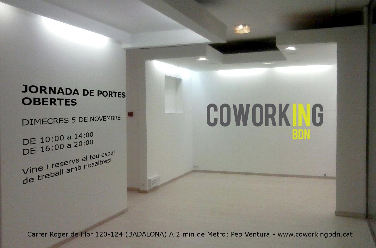 Tres emprendedores abren un nuevo espacio de coworking en Badalona-