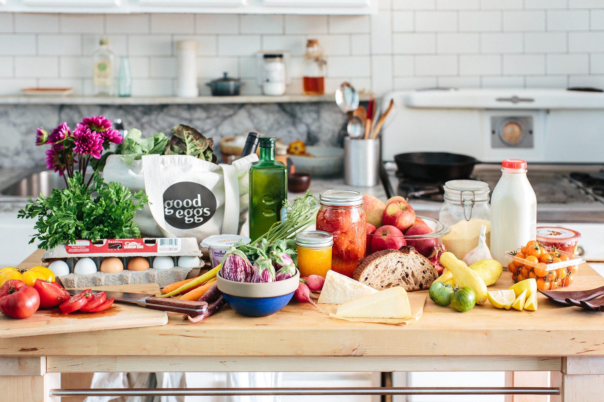 Facilita la compra de alimentos orgánicos siguiendo los pasos de Good Eggs