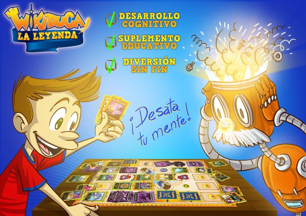 Wikiduca crea un nuevo juego de cartas que potencia el desarrollo cognitivo