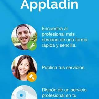 Appladin, una aplicación para dar a conocer tus servicios