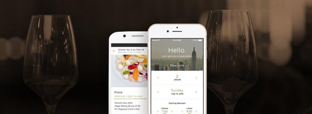 Inspírate en Reserve al emprender, una app para reservar mesa en los restaurantes