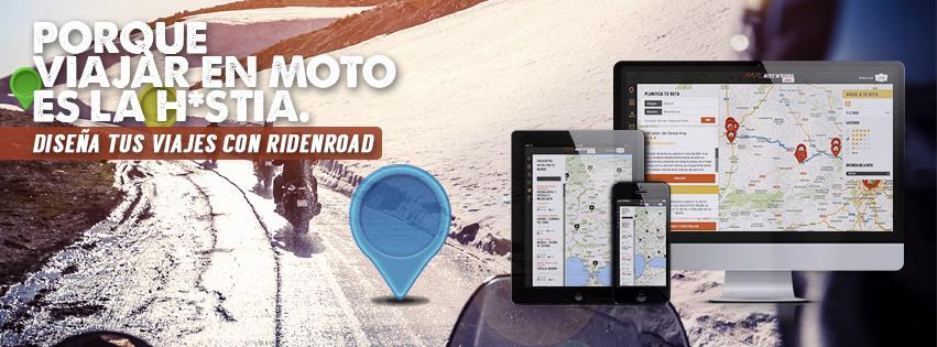 Gianluca Loprete y Pedro Racionero crean RidenRoad, una web para diseñar viajes en moto