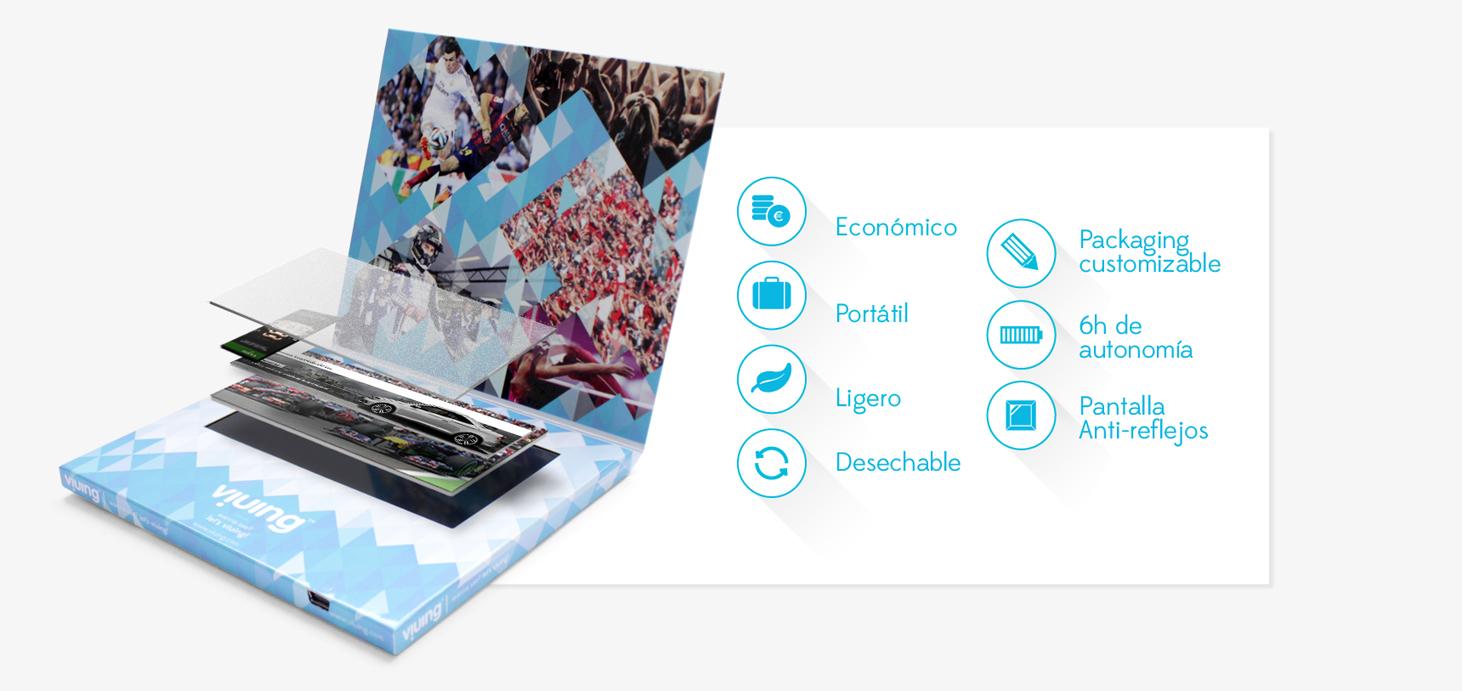 Sergio Palomino, Marc García y Toni Felguera crean un televisor de cartón desechable