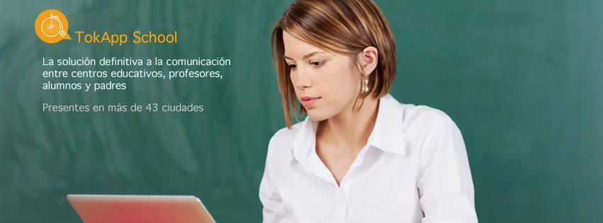 TokApp School, una app que conecta a centros educativos, profesores, padres y alumnos
