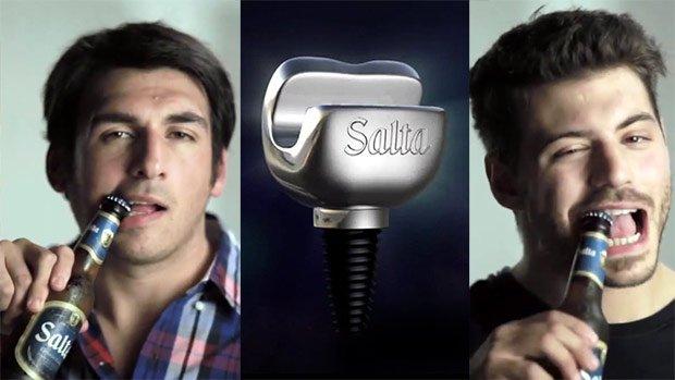 La empresa Ogilvy crea un implante para abrir cervezas con los dientes