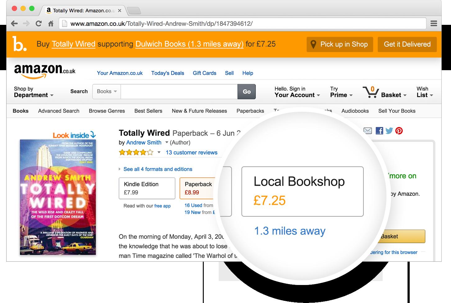 Descubre Bookindy, una aplicación que aprovecha el éxito de Amazon para apoyar a las librerías locales