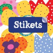 Stikets prepara la vuelta al cole con etiquetas personalizadas para marcar la ropa