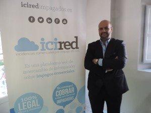 Enrique Zarza, CEO de Icired y creador del primer fichero de morosos on-line