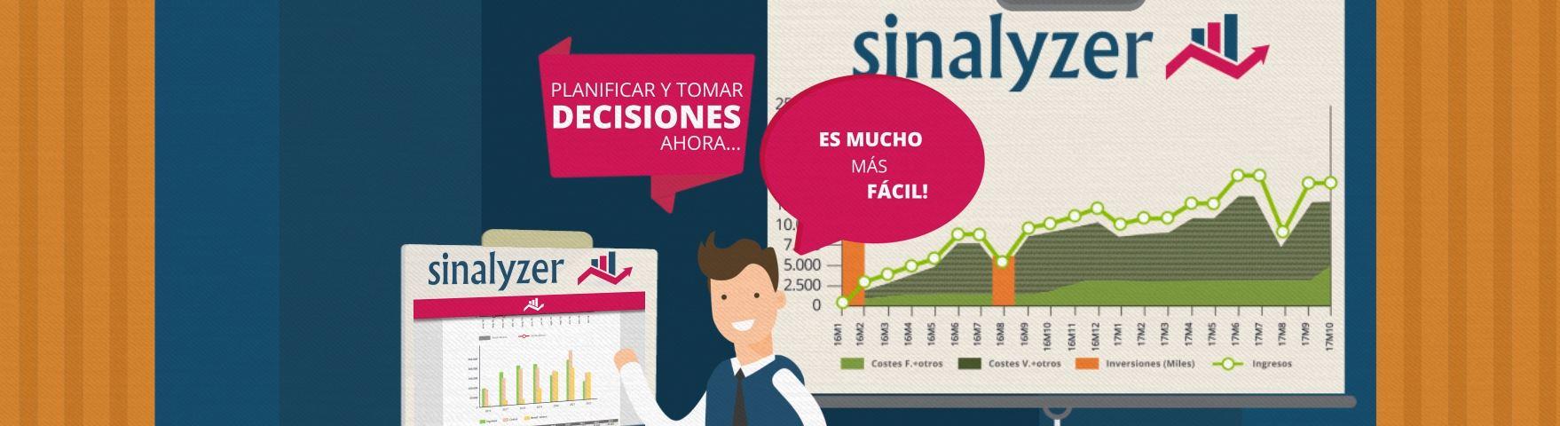 SINALYZER, una herramienta que permite hacer proyecciones económicas de una empresa en 4 horas