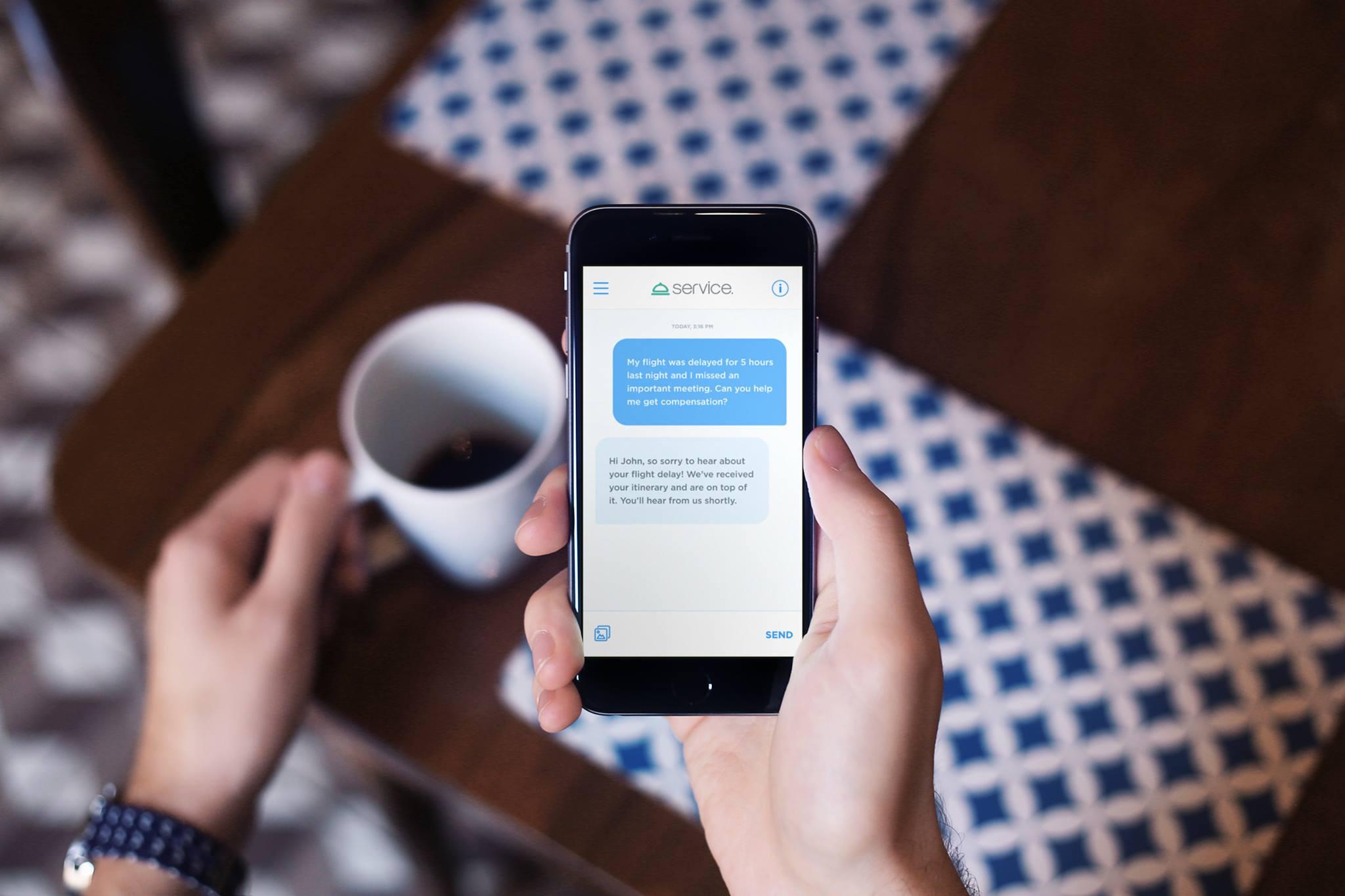 Inspírate en Service, una app para solucionar problemas con empresas