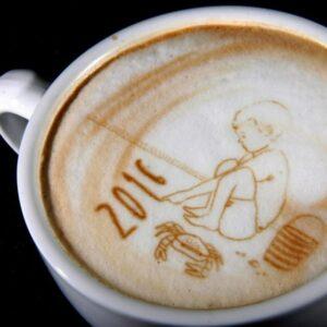 Ripple Maker, una impresora 3D que permite hacer dibujos en el café